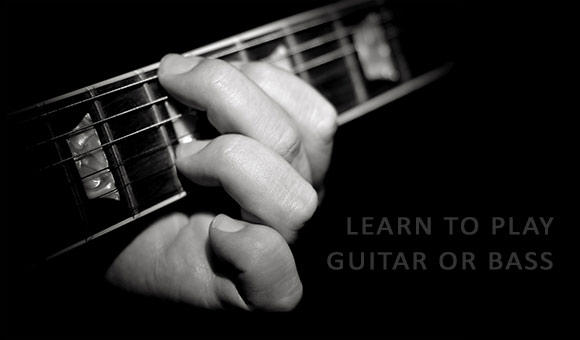 learn guitar and bass